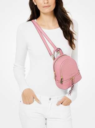 323c11353e65 MICHAEL Michael Kors Rhea Mini Studded Leather Backpack
