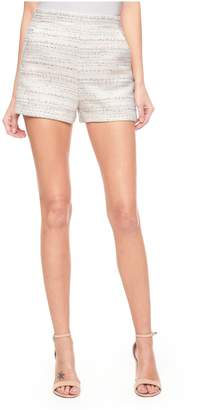 Juicy Couture Studded Pastel Tweed Short