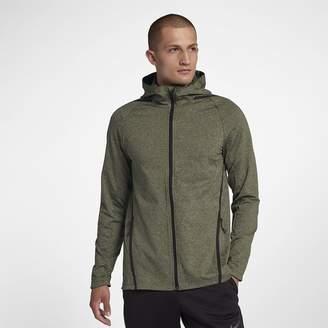 Nike Dri-FIT Men's Long Sleeve Full-Zip Training Hoodie