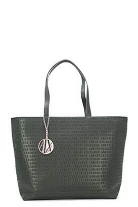 Armani Exchange A|X Zip Top Shoulder Bag
