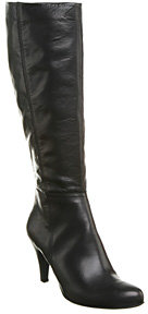 Office Bella Knee Boot Black Leather