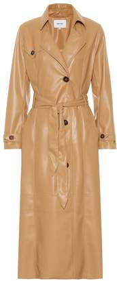 Nanushka Chiara faux leather trench coat