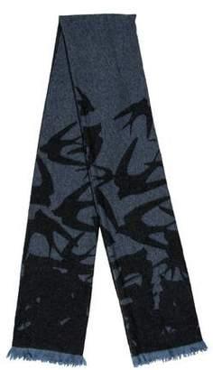 Alexander McQueen Wool Printed Scarf