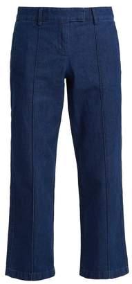 A.P.C. Cooper Cotton Pintuck Jeans - Womens - Indigo