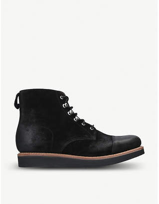 Grenson Newton nappa leather ankle boots