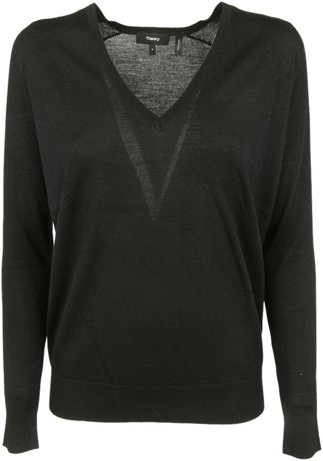 Theory Theory V-neck Jumper