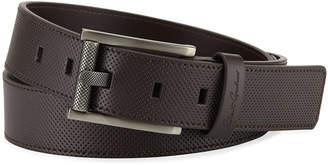 Robert Graham Men's Cafacito Leather Belt