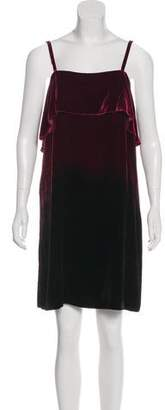 Alice + Olivia Velvet Mini Dress w/ Tags