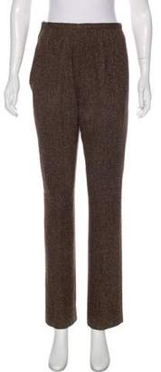 Valentino High-Rise Wool Pants