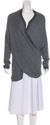 Armani Collezioni Heavy Knit Sweater Grey Heavy Knit Sweater