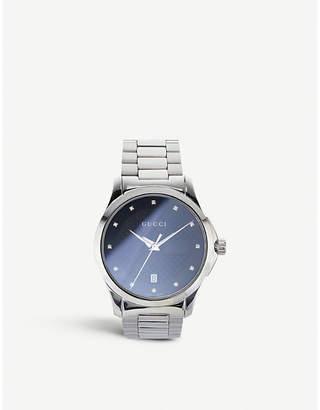 Gucci YA142503 GG2570 G timeless watch