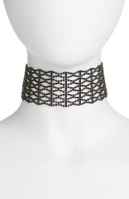 CRISTABELLE Crystal Lattice Choker