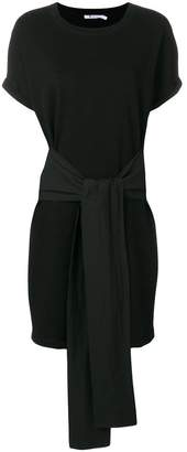 Alexander Wang tie waist mini T-shirt dress
