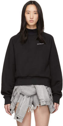 alexanderwang.t Black Heavy Sleek Turtleneck