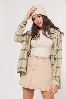Urban Renewal Vintage Remnants Bleached Out Canvas Skirt