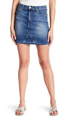 Joe's Jeans Release Hem A-Line Denim Skirt