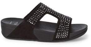 FitFlop Glitzie Slide Sandals