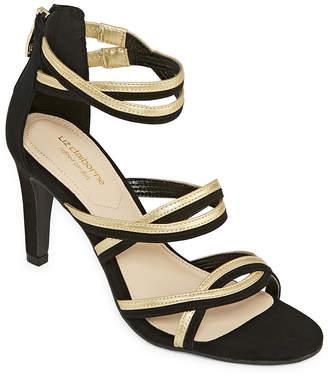 Liz Claiborne Womens Chandra Heeled Sandals