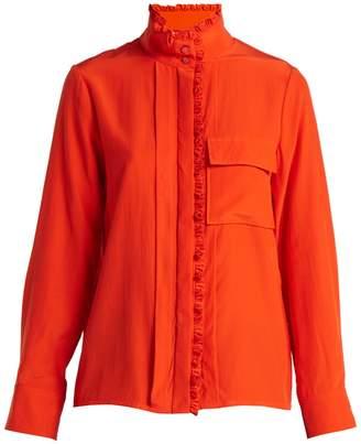 Chloé High-neck silk shirt
