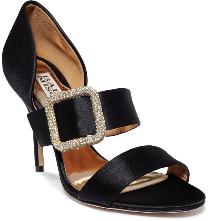Badgley Mischka Tila Evening Sandals