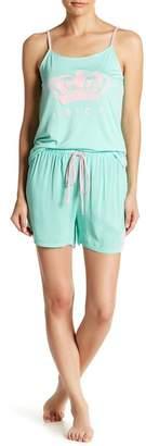 Juicy Couture Pajama Tank Top & Shorts Set