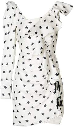 Self-Portrait star print dress