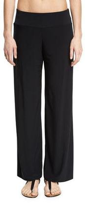 Magicsuit Cabana Wide-Leg Coverup Pants $72 thestylecure.com
