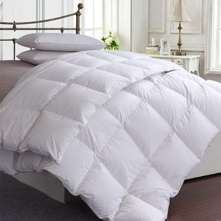 willing boy 220x260cm/86''x102'' Cotton Bedding Soft White Duvet 85% Duck Feather Quilt