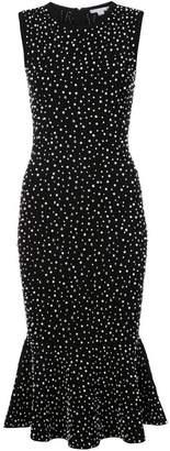 Michael Kors embellished fitted dress