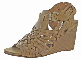 Naughty Monkey Women's Dually Noted Wedge Pump