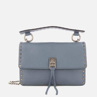 Rebecca Minkoff Women's Darren Top Handle Flap Cross Body Bag - Dusty Blue