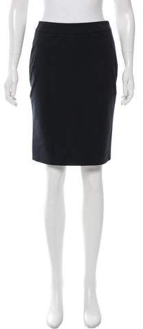 prada Prada Knee-Length Pencil Skirt