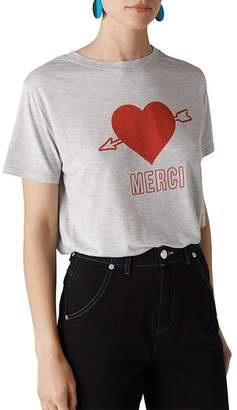 Whistles Merci Heart Tee
