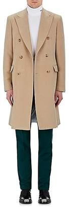 Calvin Klein Men's Cotton Moleskin Double-Breasted Coat