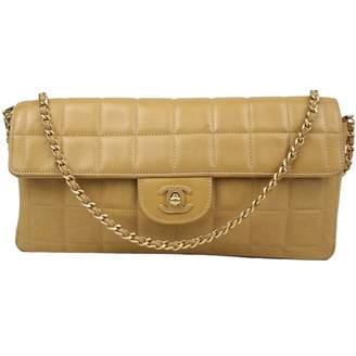 Chanel East West Chocolate Bar leather handbag