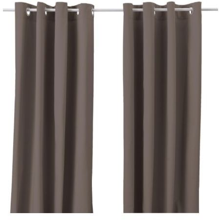 Merete Pair Of Curtains
