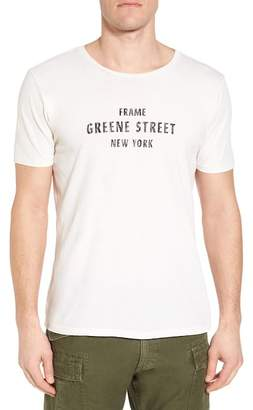 Frame Greene Street Vintage Graphic T-Shirt