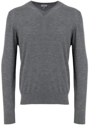 Lanvin fine knit V-neck jumper