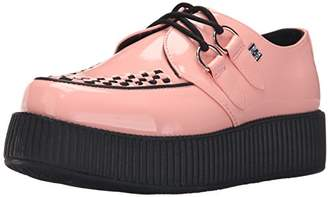 T.U.K. Women's Patent Viva Mondo Creeper Oxford