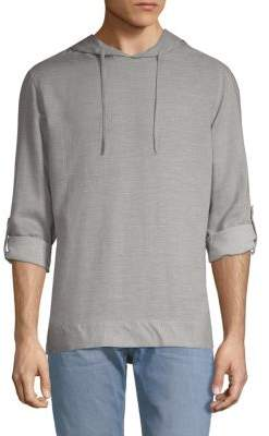 Saks Fifth Avenue Heathered Hoodie