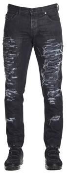 Diesel Black Gold Men's 00s9v8bg8yo02 Black Cotton Jeans