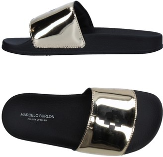 Marcelo Burlon County of Milan Sandals