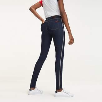 c7b45058c Tommy Hilfiger Blue Skinny Jeans For Women - ShopStyle UK