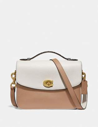 589762a7178 Coach Cassie Crossbody In Colorblock With Snakeskin Detail