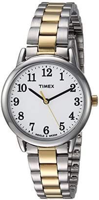 Timex Women's TW2R23900 Easy Reader Stainless Steel Bracelet Watch