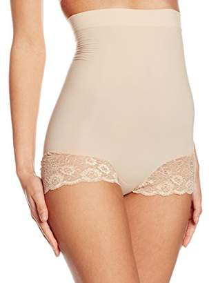 Cette Women's Glamour High Brief Control Knickers,(Manufacturer Size:Large)