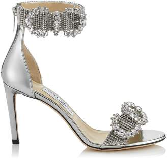Jimmy Choo Lais 85 Embellished Sandals