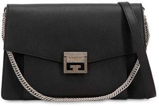 Givenchy Medium Gv3 Grained Leather Shoulder Bag
