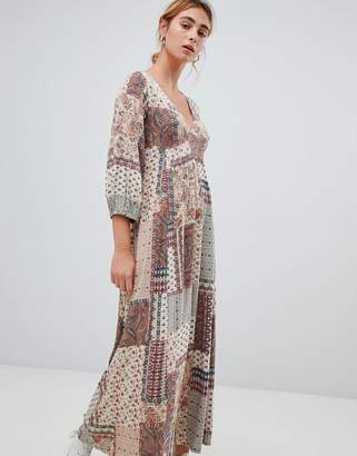 Pull&Bear paisley print dress