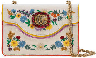 Gucci Embroidered small shoulder bag
